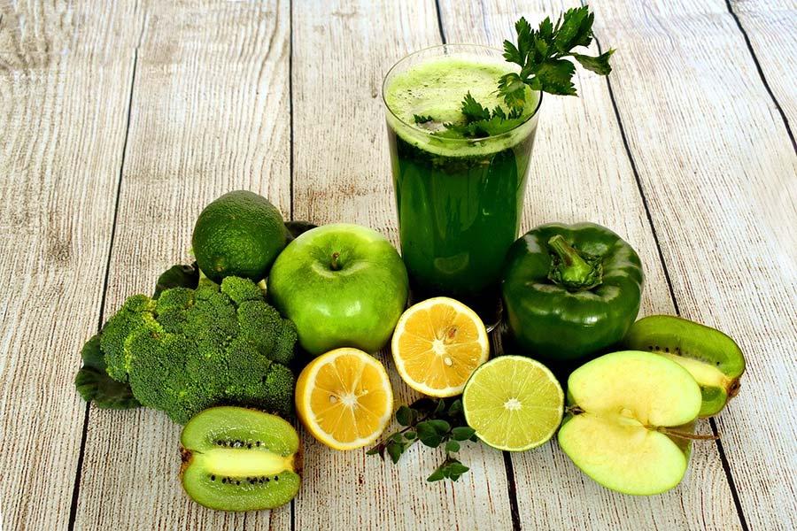 centrifugato verde